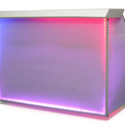 Portable Wet Bar with LEDs